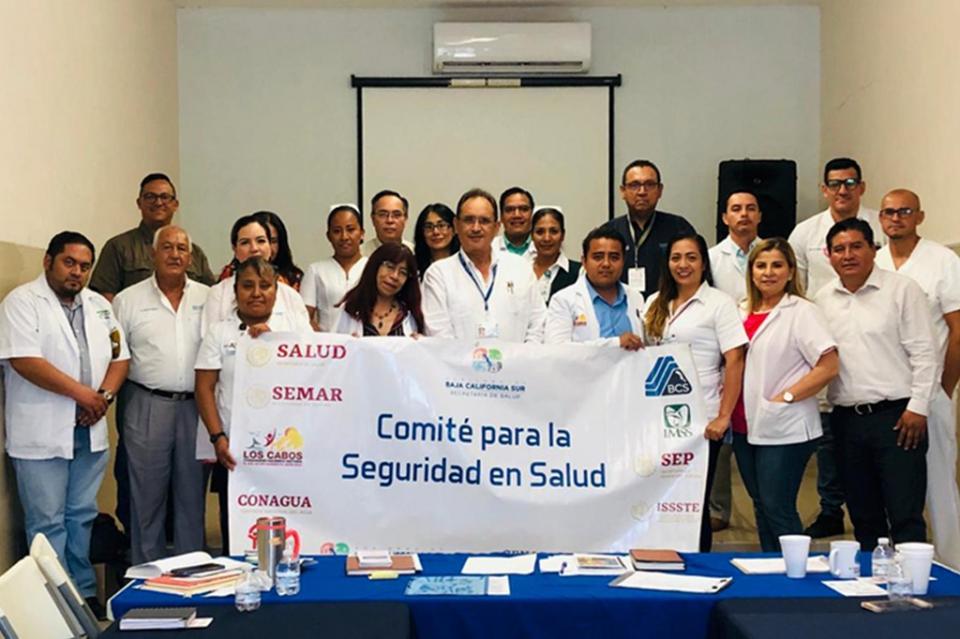 Sesionó el Comité de Seguridad en Salud de Los Cabos
