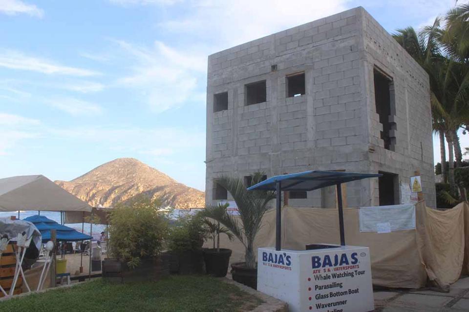 Tiene Profepa que clausurar obra irregular en El Médano y buscar los procesos para demolerla: Colegio de Ingenieros de Los Cabos
