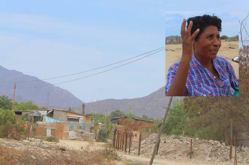 Vivo en arroyo por necesidad y preocupada ante la llegada de las lluvias, dice doña Rosa
