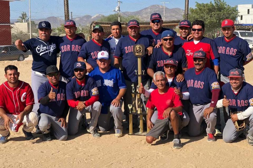 Zorros Campeón del béisbol de Vista Hermosa