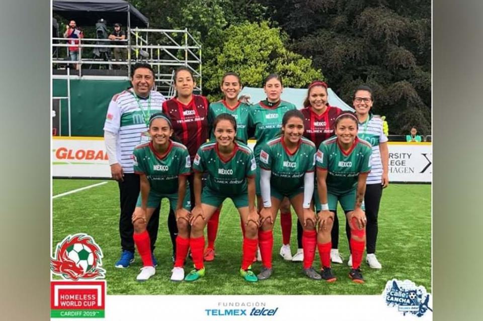 La cabeña Sandrita Ortega jugará la final mundial de Fútbol a la Calle