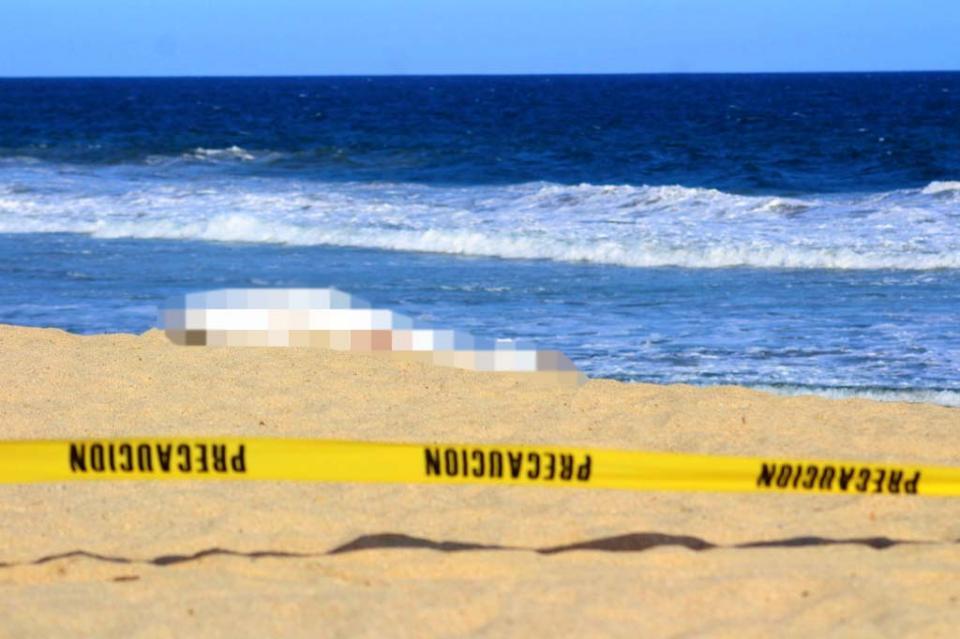 Luego de 3 días de desaparecida, encuentran turista ahogada en playa La Bocana
