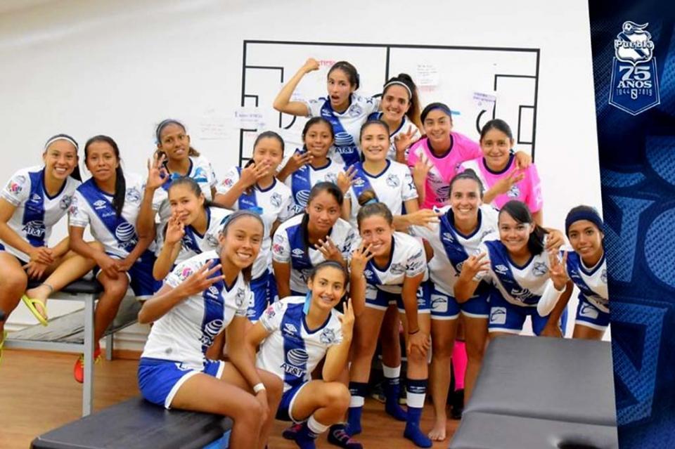La cabeña Ximena Cabanillas jugó de titular en el triunfo del Puebla