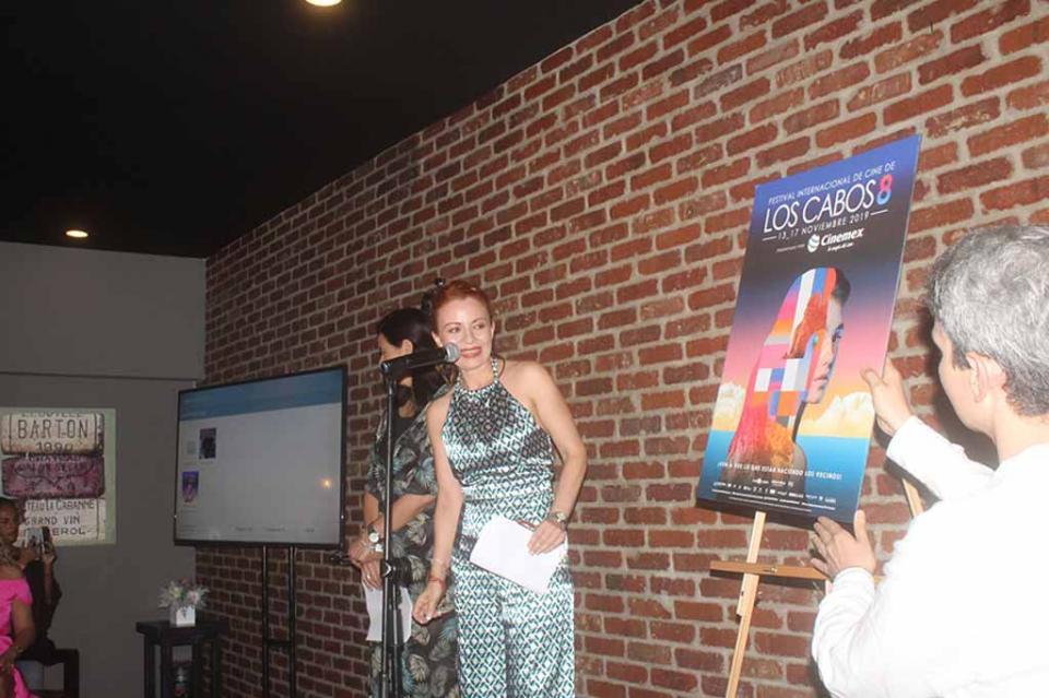 Presentan Imagen de la Octava Edición del Festival Internacional de Cine de Los Cabos