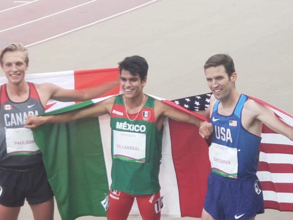 José Carlos Villarreal se corona en 1500m en Lima 2019
