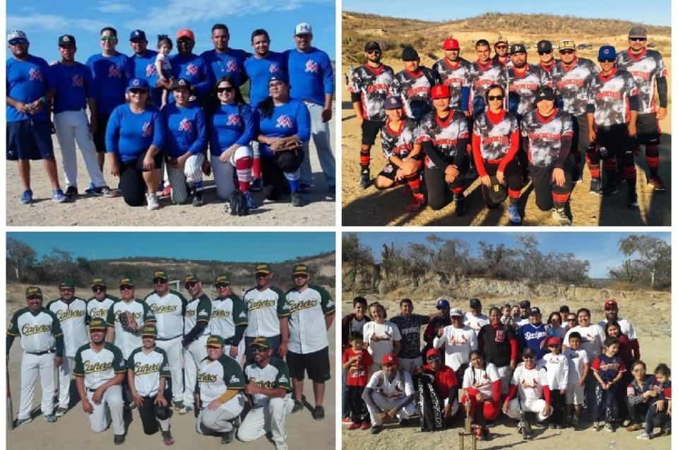Inician los play off del softbol mixto en San José del Cabo