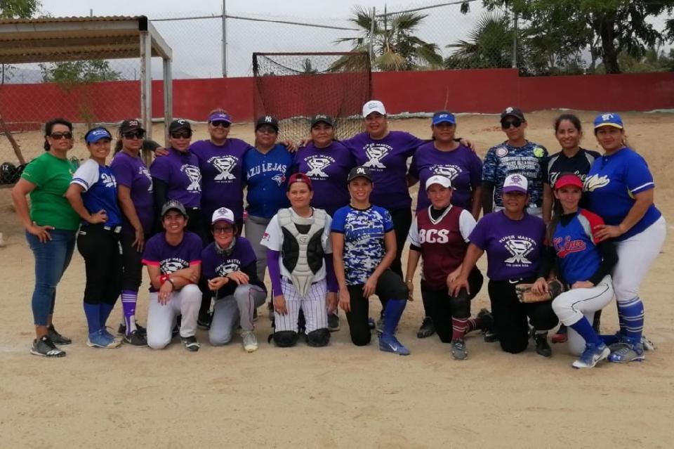Los Cabos presente en el Estatal de Softbol Femenil