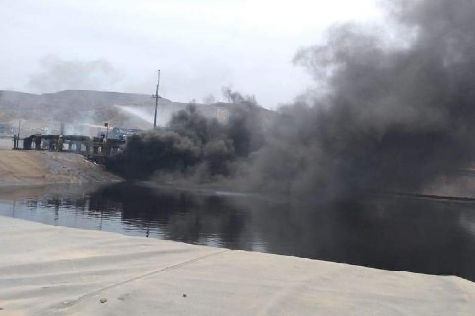 Se activan protocolos de emergencia por incendio en mina El Boleo en Santa Rosalía