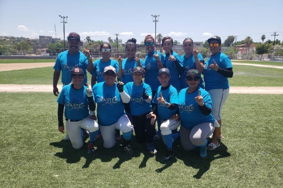 Los Cabos campeón Estatal Máster de Softbol