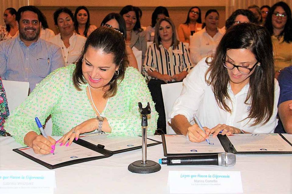 Renuevan convenio de colaboración entre SEDIF y Los Cabos Children´s Foundation