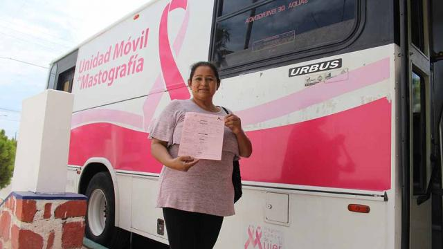 Mastógrafo móvil brindó atenciones en el Centro de Salud de El Centenario
