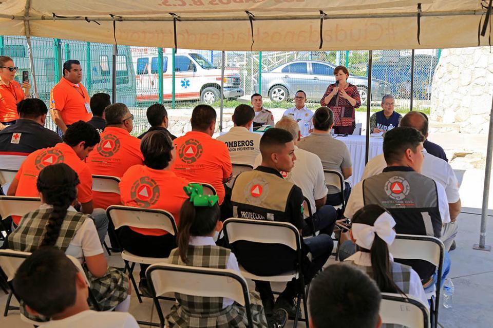 Semana Nacional de Protección Civil dejó un precedente en la cultura de la autoprotección: Eric Santillán