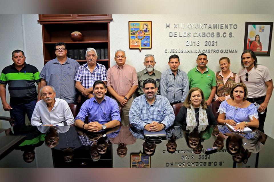 Celebran Fonatur, Fifonafe y Ejido San José disposición del Gobierno Municipal para delimitar competencias