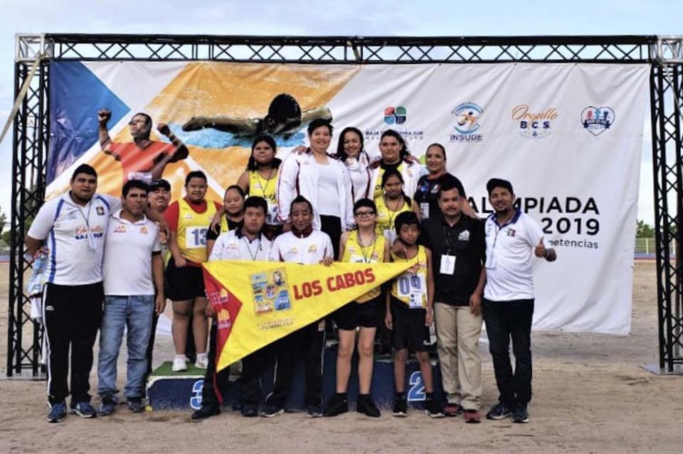 Triunfan atletas cabeños en Paralimpiada Estatal 2019