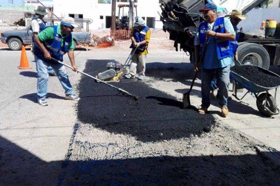 Programa de bacheo ha atendido 202 tramos de vialidades en La Paz