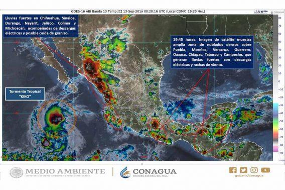 En alerta Capitanía de Puerto por posibles afectaciones meteorológicas entre 18, 19 o 20 de septiembre