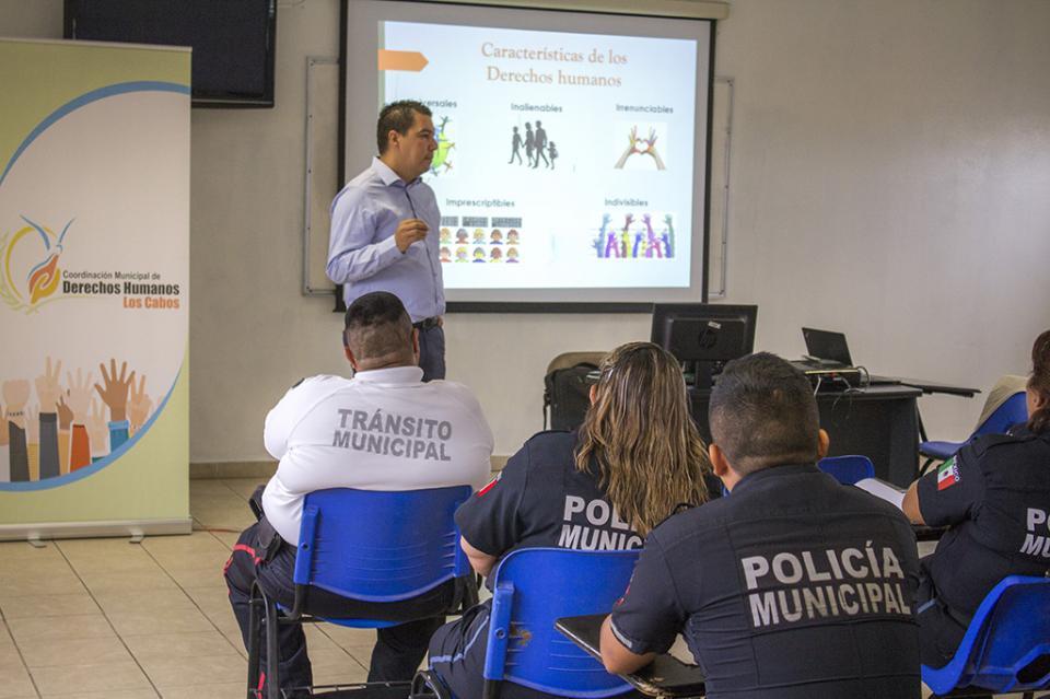 Gobierno de Los Cabos, incansable en los trabajos por garantizar los Derechos Humanos