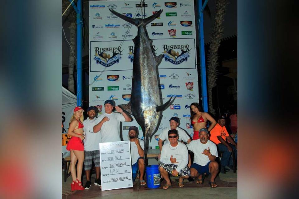 El equipo True Grit se alzó como ganador al capturar un Marlin negro de 498 libras, en la jornada de pesca de este jueves