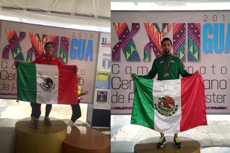 Cabeños triunfan en Centroamericanos Máster de Atletismo