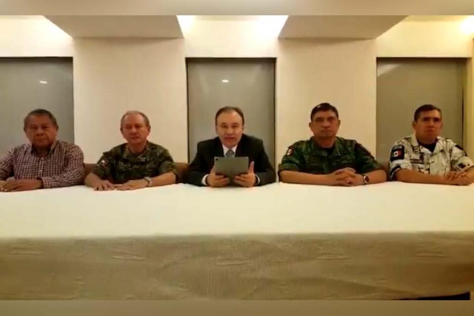 Confirma Gabinete de Seguridad arresto de Ovidio Guzmán e informan sobre los hechos suscitados en Culiacán