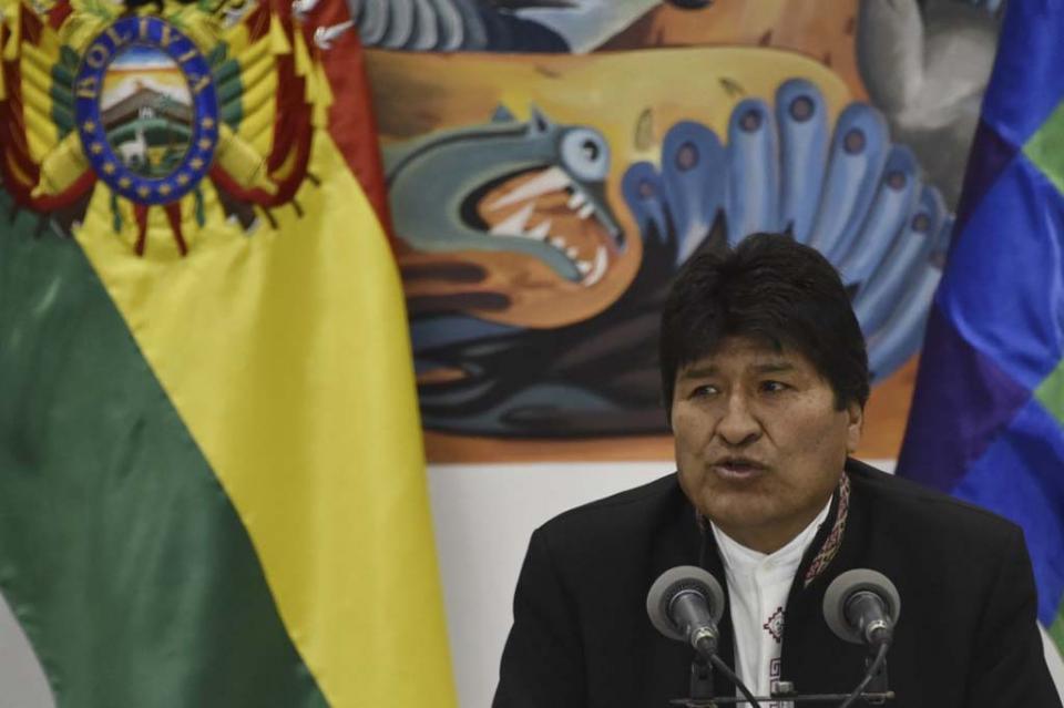 """Evo Morales denuncia """"golpe de Estado"""" en Bolivia"""
