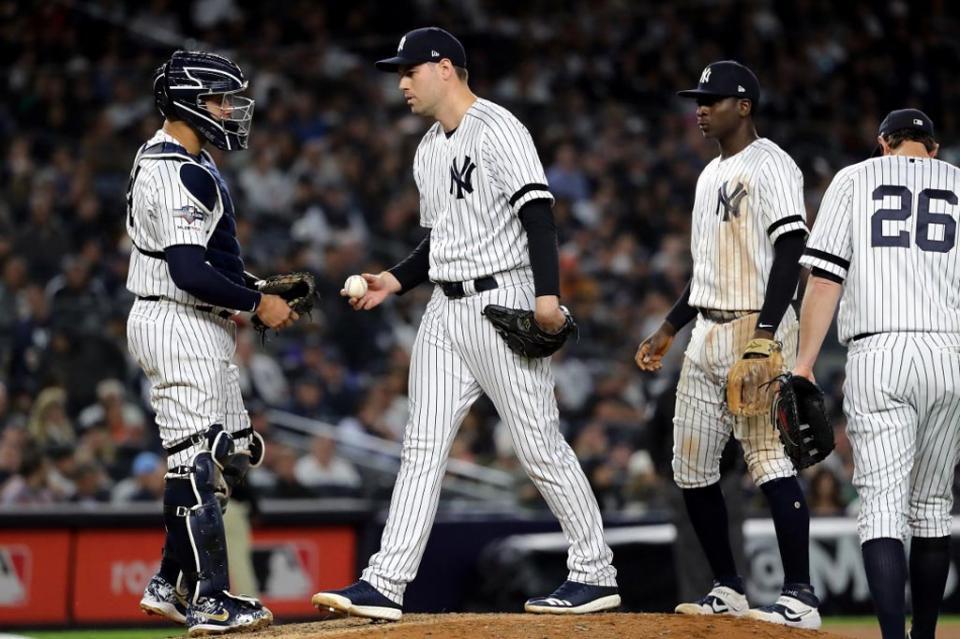 Posponen cuarto juego entre Yankees y Astros por mal tiempo