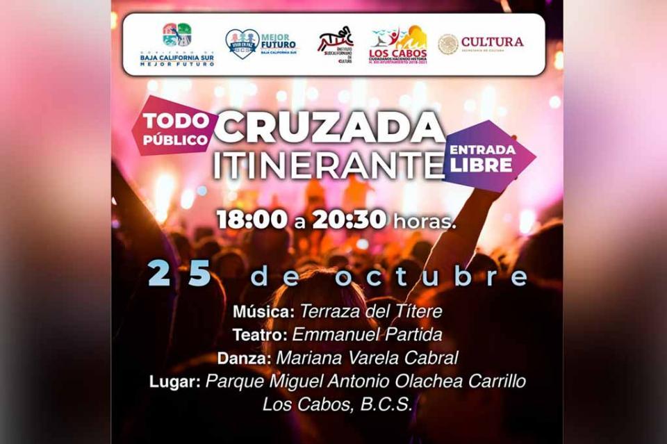 Presentará ISC Cruzada Itinerante en Cabo San Lucas