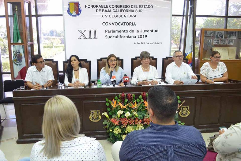 Todo listo para iniciar el XII Parlamento de la Juventud