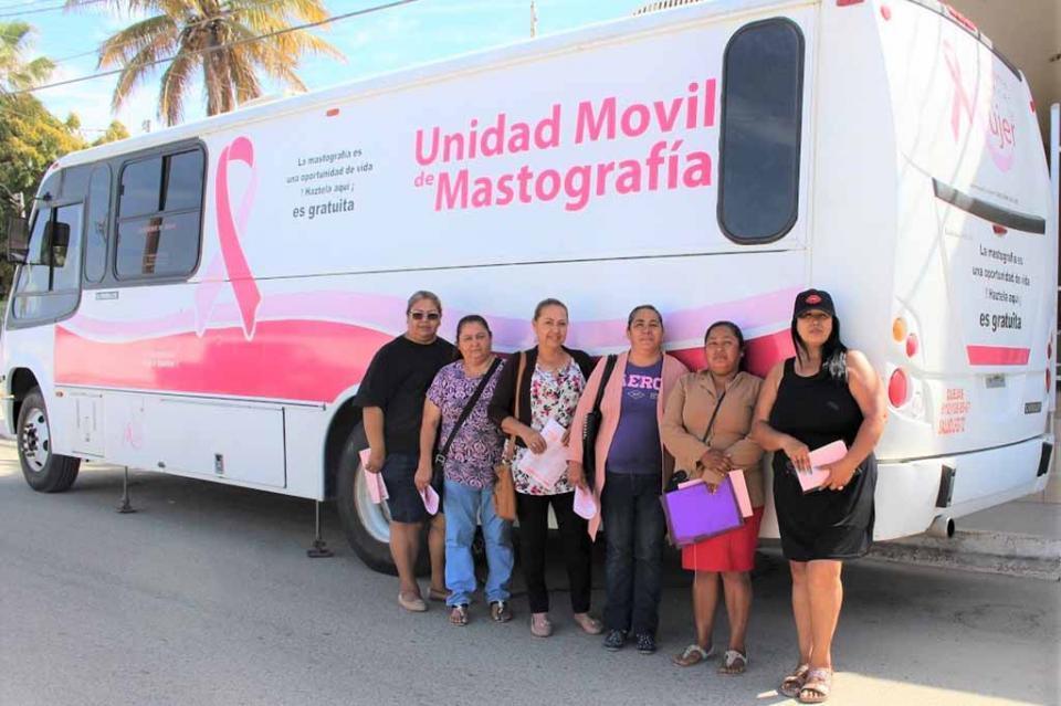 Gobierno estatal acercará nuevamente el Mastógrafo Móvil a Cabo San Lucas