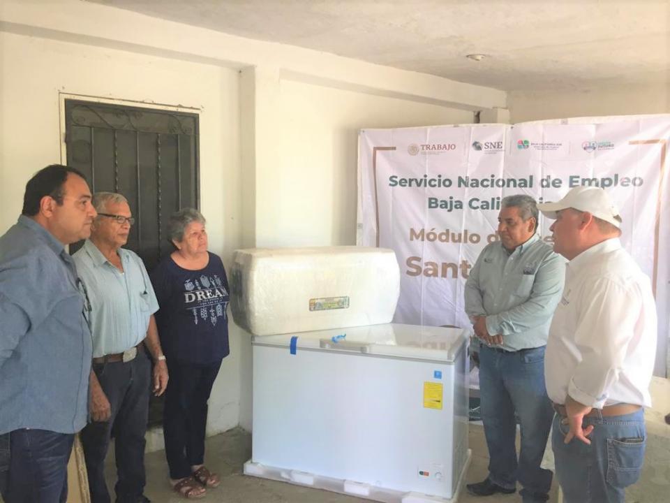 Se continúan otorgando apoyos para fomentar el autoempleo en Mulegé