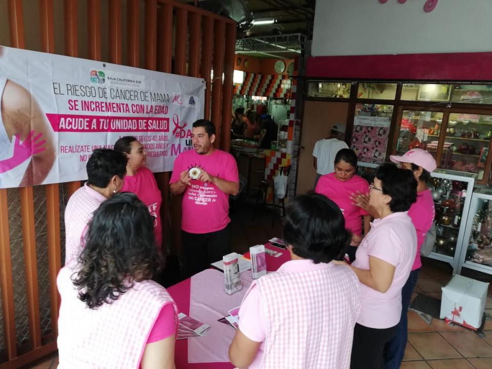 ISMUJERES se suma a la campaña en contra del cáncer de mama