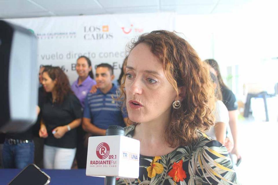 BCS preponderante en relación bilateral entre Reino Unido y México: embajadora británica Amy Clemitshaw