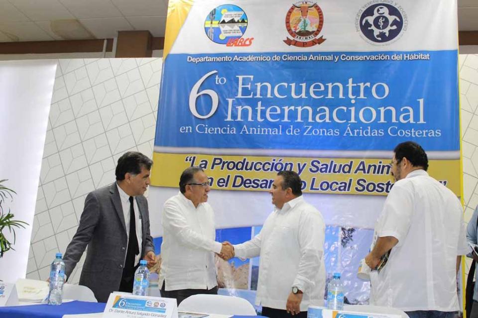 Inaugura Andrés Córdova el 6to Encuentro Internacional en Ciencia Animal