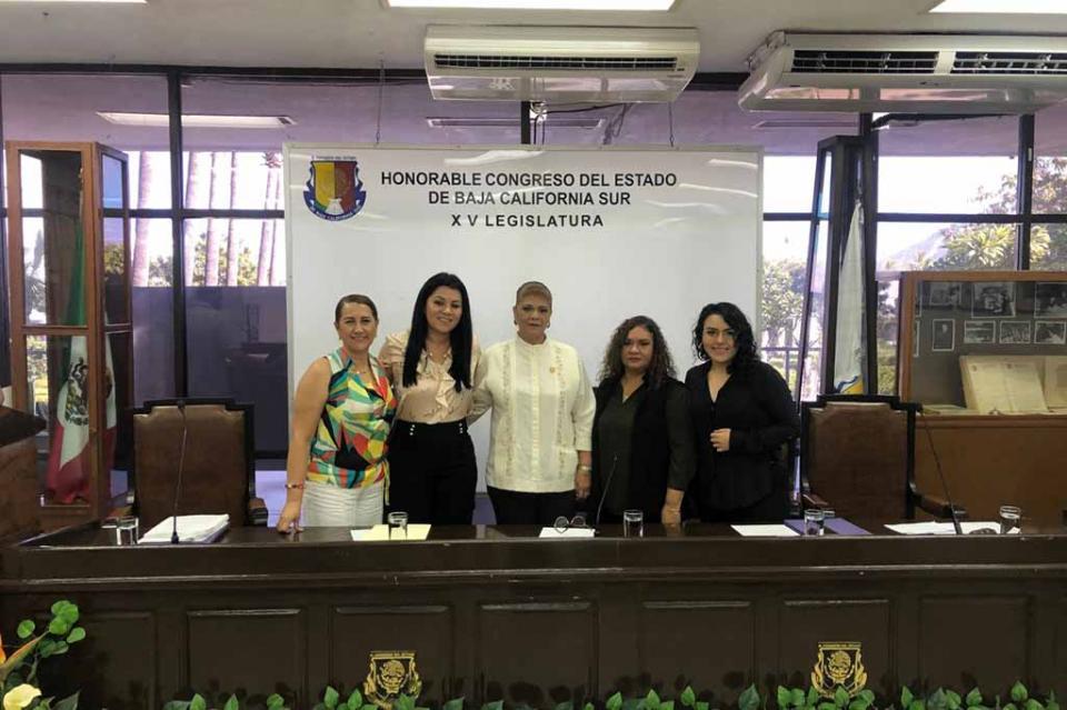 """Se lleva a cabo foro """"Rumbo a un Código Civil con perspectiva de género en BCS"""""""