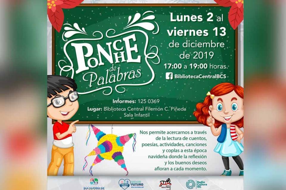 Instituto de Cultura llevará a cabo taller navideño para niñas y niños