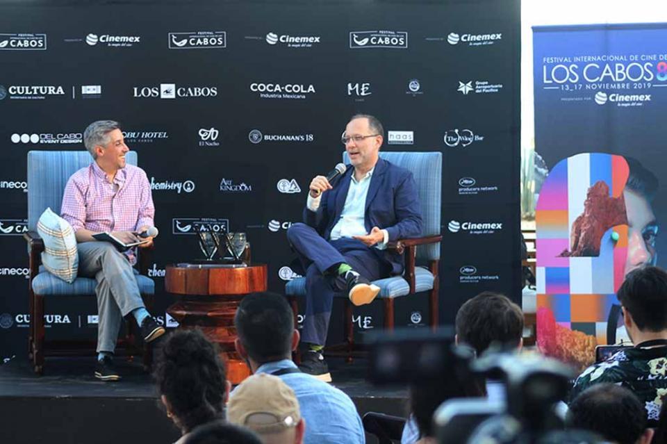 Visita director de cine Ira Sachs Los Cabos y reconoce el desarrollo del Festival Internacional de Cine