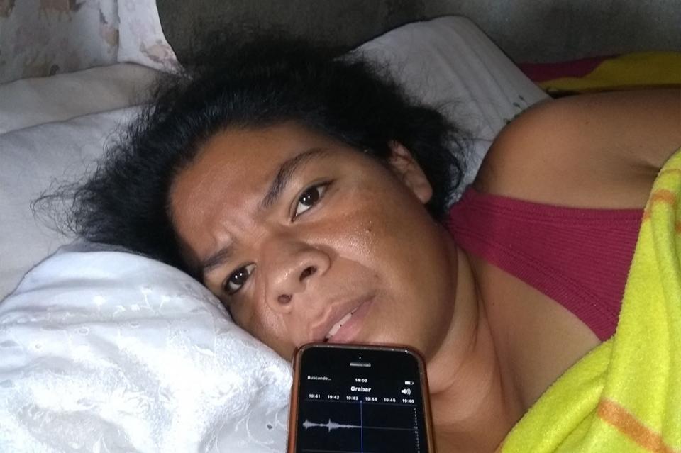 Alida, desde su natal Oaxaca viene a buscar la manera de recuperar su salud