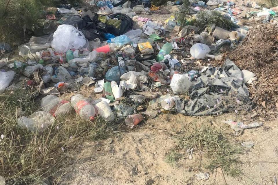 Denuncian ciudadanos basureros clandestino en arroyo Zacatal en SJC