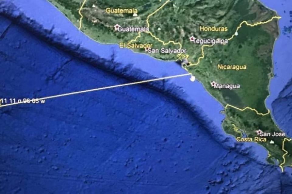 Alerta ante posible tsunami en El Salvador