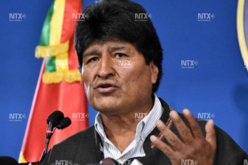 Evo Morales acepta asilo político en México