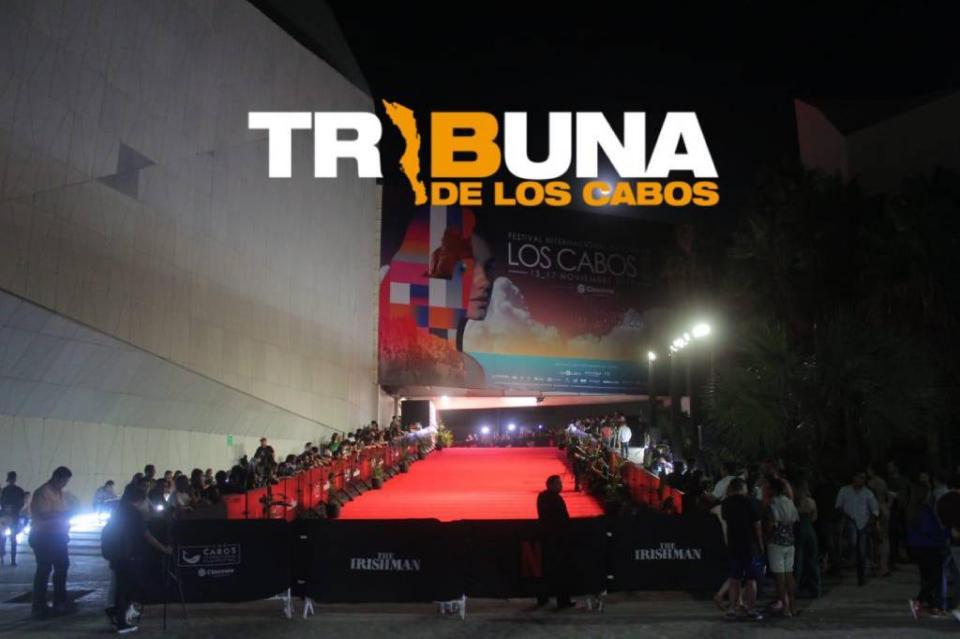 Espectacular noche en CSL con alfombra roja en el marco inaugural del Festival de Cine de Los Cabos