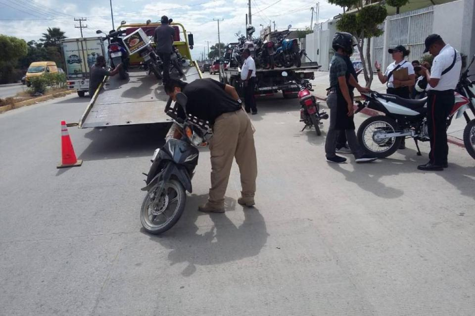 Lo detienen en El Zacatal por llevar moto robada y lo vinculan a proceso