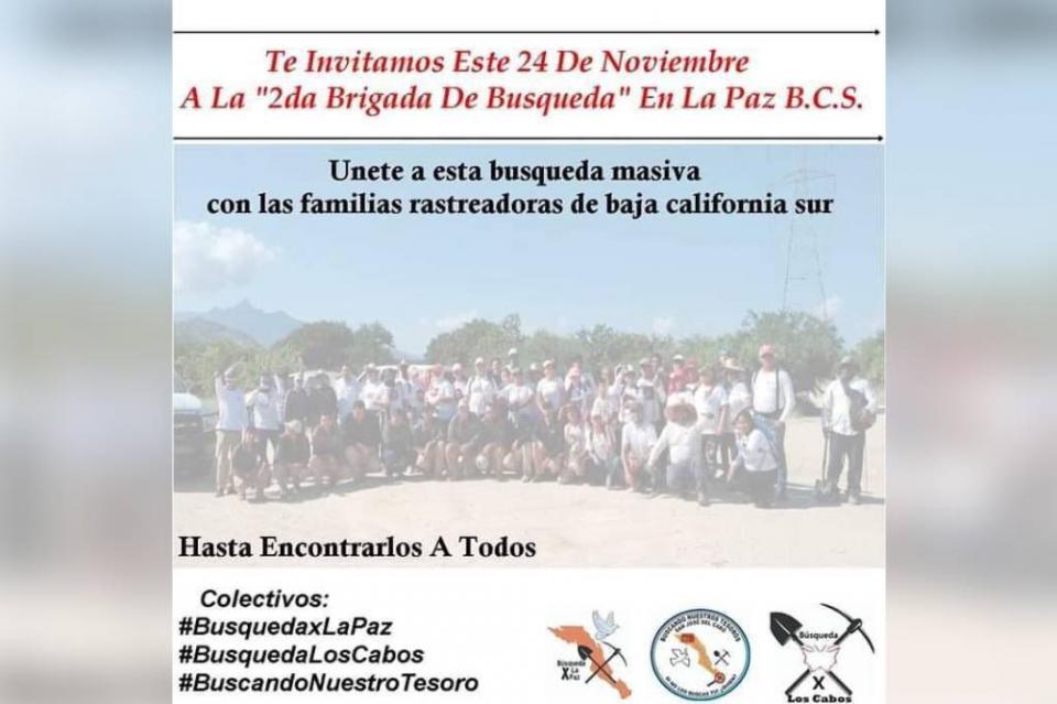Realizarán intensa jornada de búsqueda por personas desparecidos en La Paz