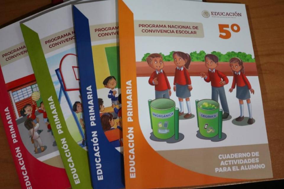 Distribuirá SEP más de 10 mil libros de convivencia escolar