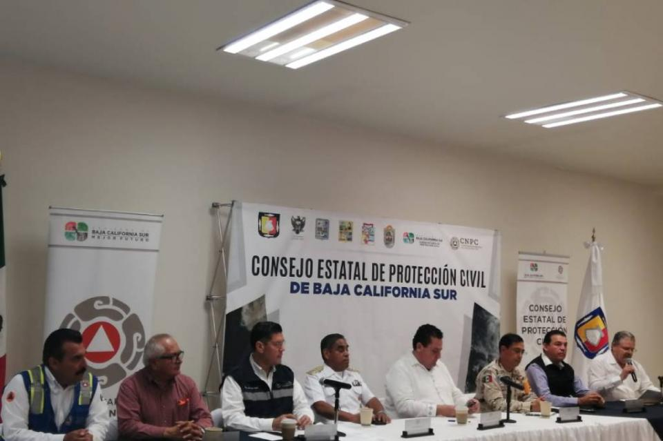 Mañana suspenden clases en La Paz y Los Cabos por pronóstico de lluvias
