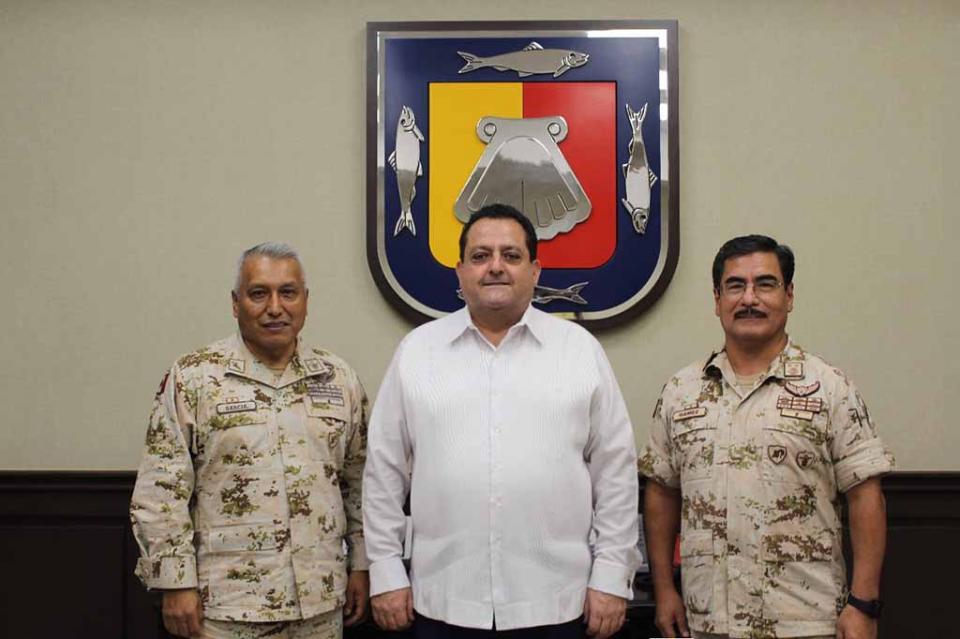 Agradece CMD coordinación con fuerzas armadas para la tranquilidad de BCS
