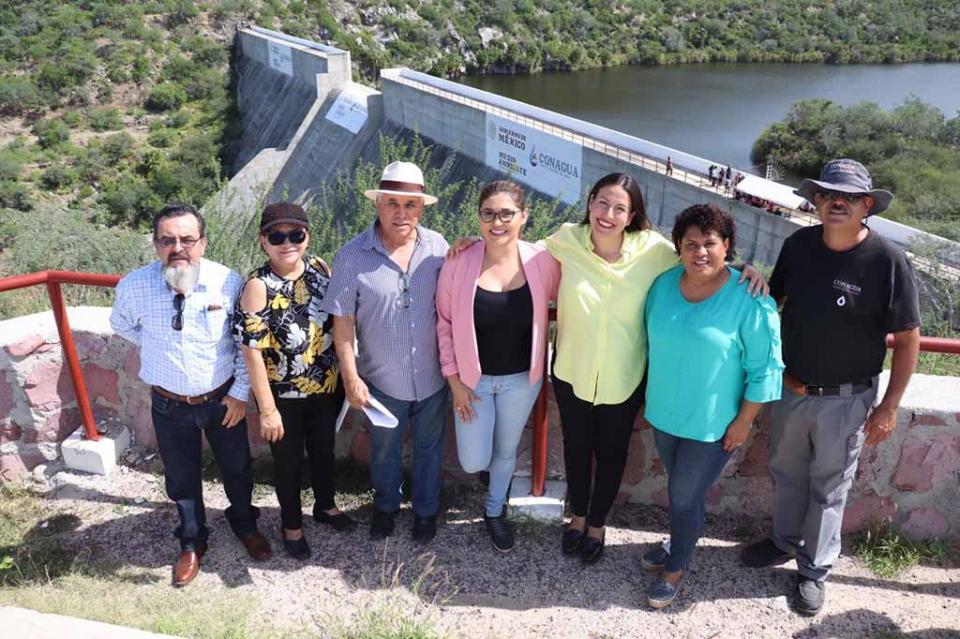 Comisión Permanente del Agua y CONAGUA realizan recorrido por Presa de La Buena Mujer
