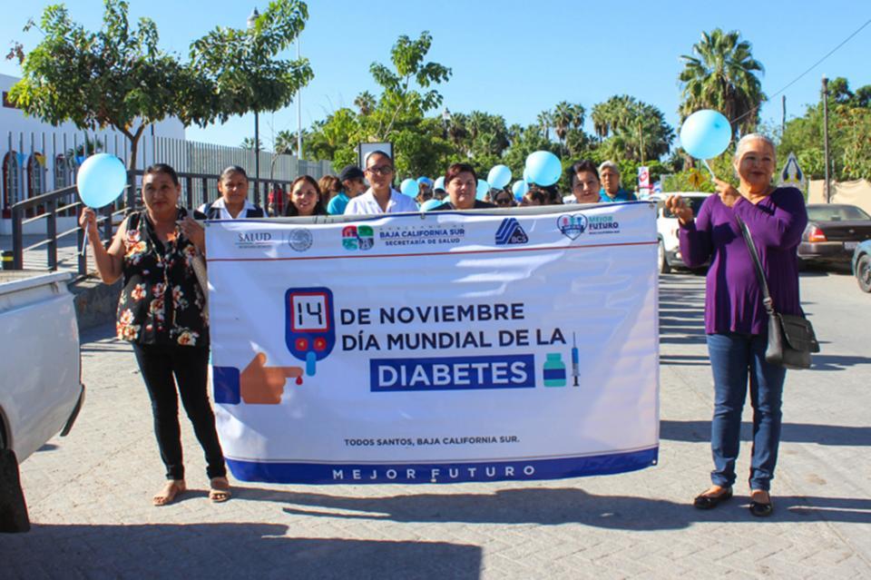 Con actividades preventivas salud conmemoró el Día de La Diabetes