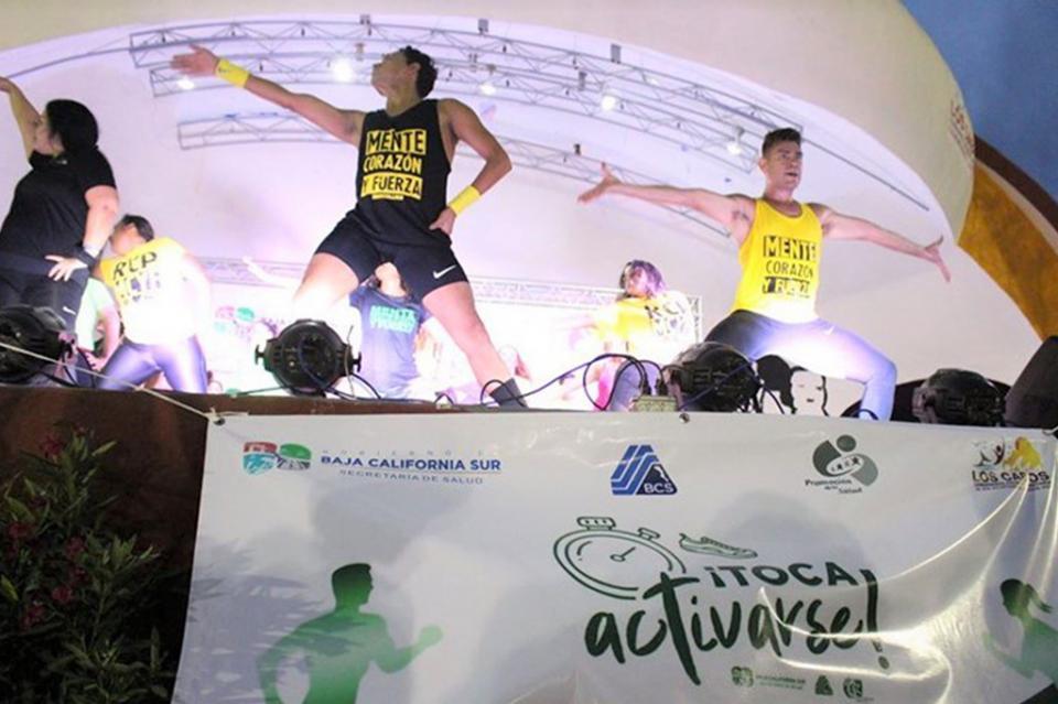 Salud realizó jornada de activación física en Cabo San Lucas