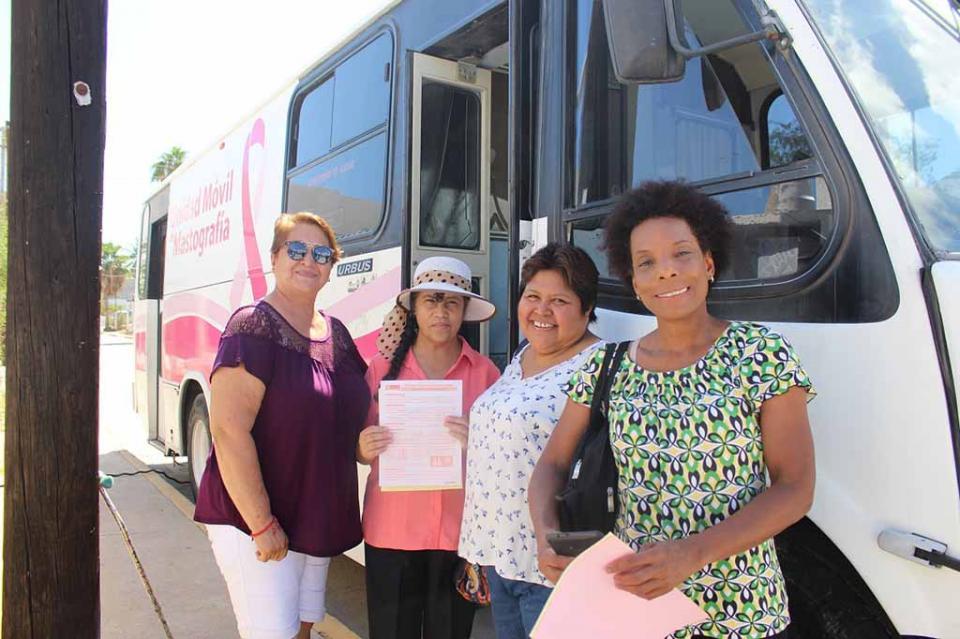 Sudcalifornianas accedieron a mastografías gratuitas en el mes del cáncer de mama